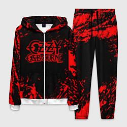 Костюм мужской Ozzy Osbourne цвета 3D-белый — фото 1