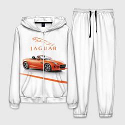 Костюм мужской Jaguar цвета 3D-белый — фото 1