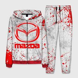 Костюм мужской MAZDA RED LOGO цвета 3D-красный — фото 1