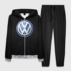 Костюм мужской Volkswagen Logo цвета 3D-меланж — фото 1