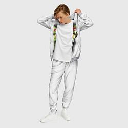 Костюм мужской Грозный Рафаэль цвета 3D-меланж — фото 2