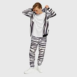 Костюм мужской Я зебра цвета 3D-черный — фото 2