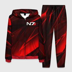 Костюм мужской MASS EFFECT N7 цвета 3D-красный — фото 1