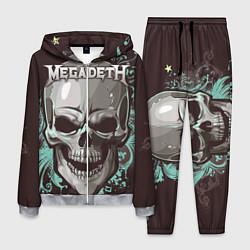 Костюм мужской Megadeth цвета 3D-меланж — фото 1