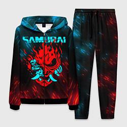 Мужской костюм CYBERPUNK 2077 SAMURAI