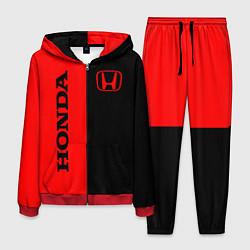 Костюм мужской HONDA цвета 3D-красный — фото 1