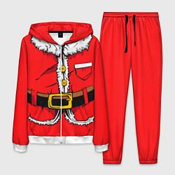 Костюм мужской Санта Клаус цвета 3D-белый — фото 1