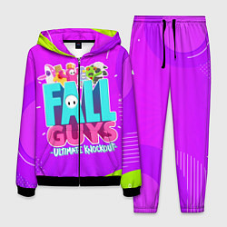 Костюм мужской Fall Guys цвета 3D-черный — фото 1