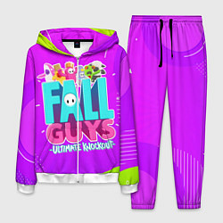 Костюм мужской Fall Guys цвета 3D-белый — фото 1
