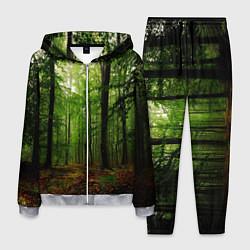Костюм мужской Лес цвета 3D-меланж — фото 1