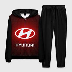 Костюм мужской HYUNDAI ХЕНДАЙ RED STYLE цвета 3D-черный — фото 1