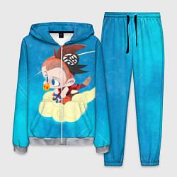 Костюм мужской Baby Goku цвета 3D-меланж — фото 1