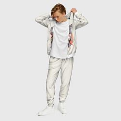 Костюм мужской Бладборн красками цвета 3D-белый — фото 2