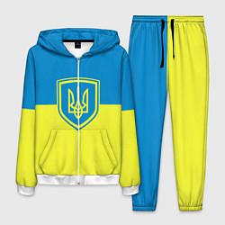 Костюм мужской Украина цвета 3D-белый — фото 1