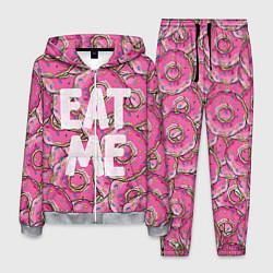 Костюм мужской Eat me, Homer цвета 3D-меланж — фото 1