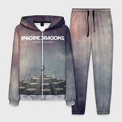 Костюм мужской Imagine Dragons: Night Visions цвета 3D-меланж — фото 1
