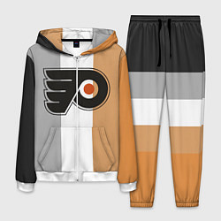 Костюм мужской Philadelphia Flyers цвета 3D-белый — фото 1