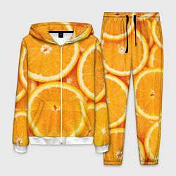 Костюм мужской Апельсин цвета 3D-белый — фото 1
