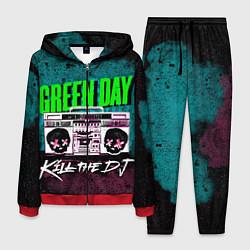 Костюм мужской Green Day: Kill the DJ цвета 3D-красный — фото 1