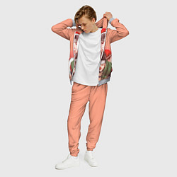 Костюм мужской Аниме цвета 3D-меланж — фото 2
