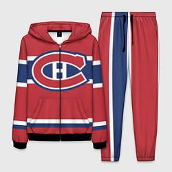 Костюм мужской Montreal Canadiens цвета 3D-черный — фото 1