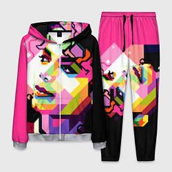 Костюм мужской Michael Jackson Art цвета 3D-меланж — фото 1