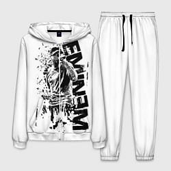 Костюм мужской Eminem Rap цвета 3D-белый — фото 1