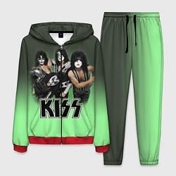 Костюм мужской Kiss цвета 3D-красный — фото 1