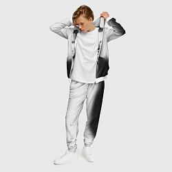 Костюм мужской Бенедикт Камбербэтч цвета 3D-белый — фото 2