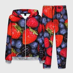 Костюм мужской Berries цвета 3D-меланж — фото 1