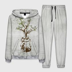 Костюм мужской Three Days Grace: Tree цвета 3D-меланж — фото 1