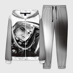 Костюм мужской Юрий Гагарин цвета 3D-белый — фото 1