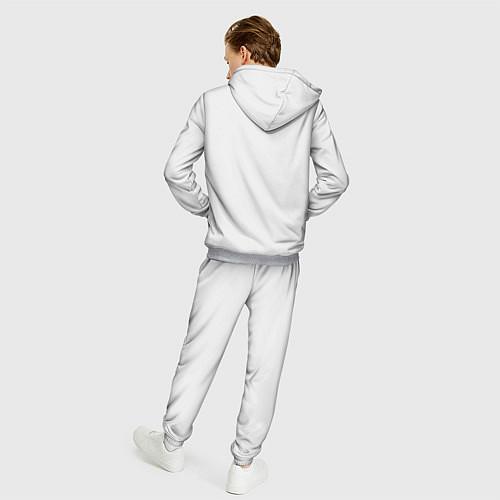 Мужской костюм Кино: Виктор Цой / 3D-Меланж – фото 4