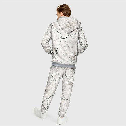 Мужской костюм Train hard / 3D-Меланж – фото 4
