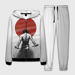 Костюм мужской Ярость самурая цвета 3D-черный — фото 1