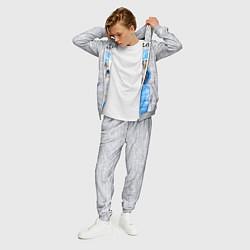 Костюм мужской Модная киска цвета 3D-меланж — фото 2