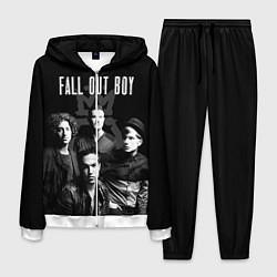 Костюм мужской Fall out boy band цвета 3D-белый — фото 1