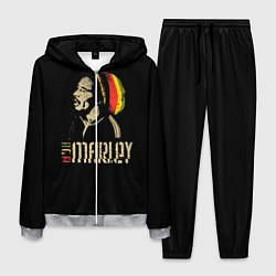 Костюм мужской Bob Marley цвета 3D-меланж — фото 1