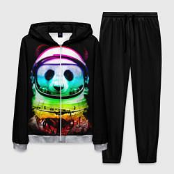 Костюм мужской Панда космонавт цвета 3D-меланж — фото 1