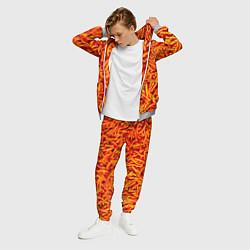 Костюм мужской Морковь цвета 3D-меланж — фото 2