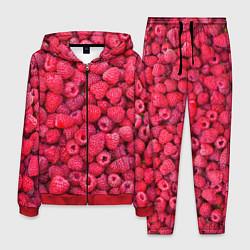Костюм мужской Малинки цвета 3D-красный — фото 1