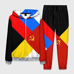 Костюм мужской Вечная Россия цвета 3D-меланж — фото 1