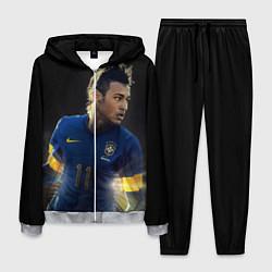 Костюм мужской Neymar: Brasil Team цвета 3D-меланж — фото 1
