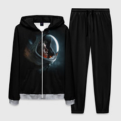 Костюм мужской Aliens Astronaut цвета 3D-меланж — фото 1
