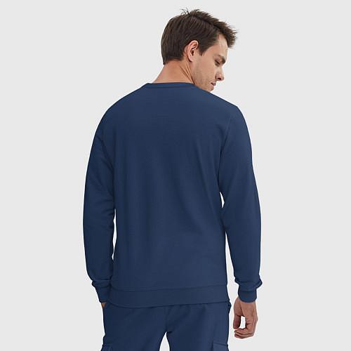 Мужской костюм Знатный бариста / Тёмно-синий – фото 3