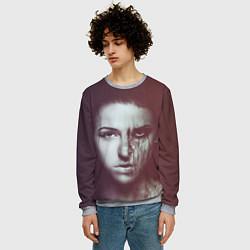 Свитшот мужской Chelsea Grin: Death Girl цвета 3D-меланж — фото 2