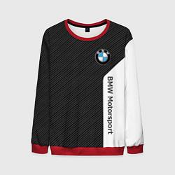 Мужской свитшот BMW Motorsport: Black Carbon
