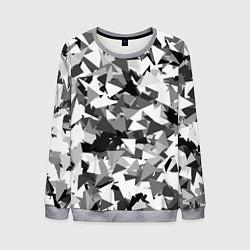 Свитшот мужской Городской серый камуфляж цвета 3D-меланж — фото 1