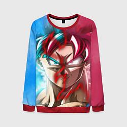 Свитшот мужской Dragon Ball цвета 3D-красный — фото 1