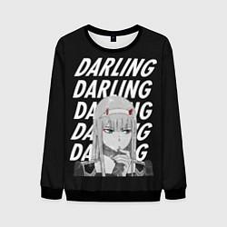Свитшот мужской ZeroTwo Darling in the Franx цвета 3D-черный — фото 1